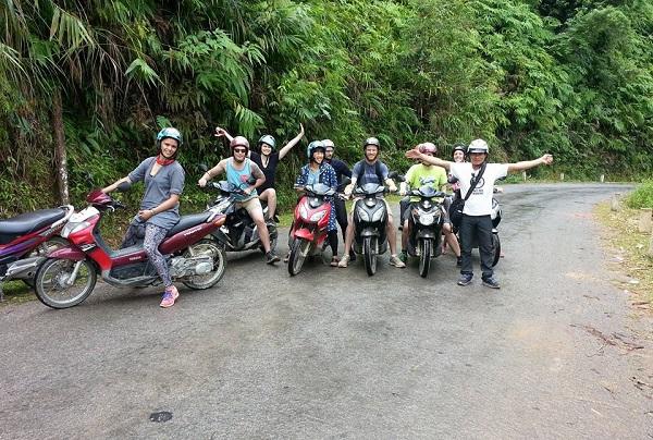 đi pù luông bằng xe máy
