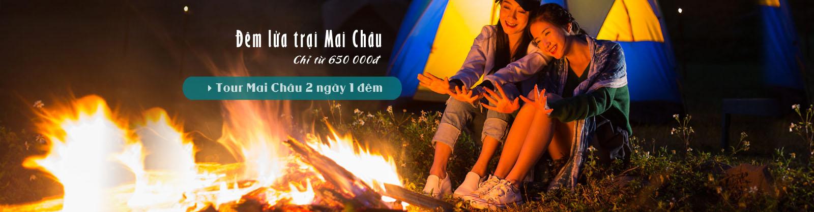 Đêm lửa trại Mai Châu