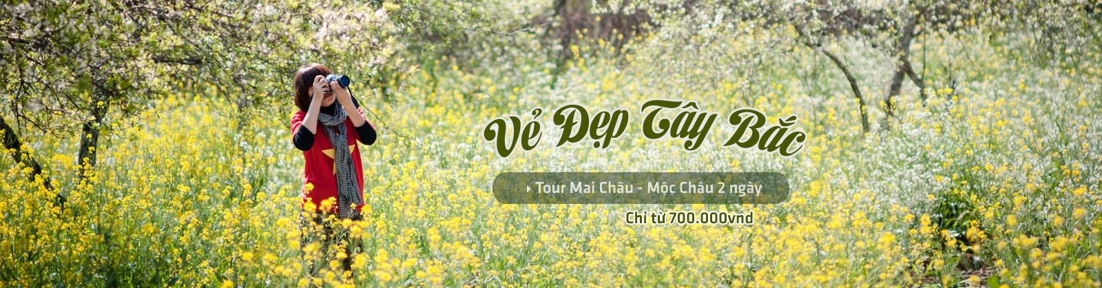 Mai Châu - Mộc Châu - Vẻ đẹp Tây Bắc